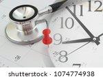 regular medical examination... | Shutterstock . vector #1074774938