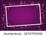 celebration party frame... | Shutterstock .eps vector #1074793940