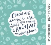 unique hand drawn quote ...   Shutterstock .eps vector #1074797390