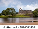 bolton abbey in wharfedale in... | Shutterstock . vector #1074806390