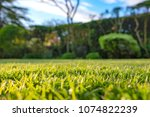 ground level view of a recently ... | Shutterstock . vector #1074822239
