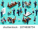 selection agency for employment ... | Shutterstock .eps vector #1074838754