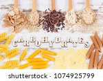 natural ingredients or products ... | Shutterstock . vector #1074925799