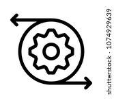 setting configure gear  | Shutterstock .eps vector #1074929639