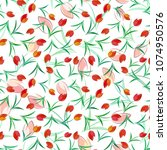 vector seamless pattern... | Shutterstock .eps vector #1074950576