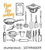 never stop cooking. cooking... | Shutterstock . vector #1074960659