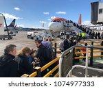 5 April 2018 Edinburgh Airport...