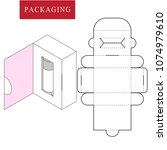 packaging for cosmetic or... | Shutterstock .eps vector #1074979610