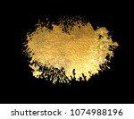 abstract golden texture bright... | Shutterstock .eps vector #1074988196