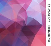background of pink  purple... | Shutterstock .eps vector #1075042418