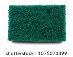 close up texture of green heavy ... | Shutterstock . vector #1075073399
