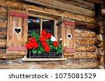 typical bavarian or austrian... | Shutterstock . vector #1075081529