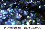 bokeh lights for party  holiday ... | Shutterstock . vector #1075082900