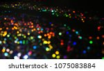 bokeh lights for party  holiday ... | Shutterstock . vector #1075083884