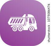 truck icon vector design | Shutterstock .eps vector #1075086476