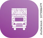 truck icon vector design | Shutterstock .eps vector #1075086479