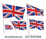 united kingdom  great britain... | Shutterstock .eps vector #107509586