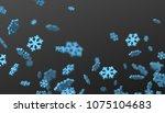 abstract 3d rendering of flying ...   Shutterstock . vector #1075104683