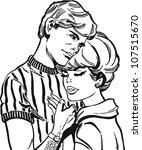 vintage illustration  isolated... | Shutterstock . vector #107515670