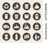 Garbage Recycling Icons