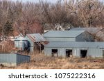 an old neglected farm and... | Shutterstock . vector #1075222316