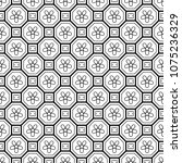 vector seamless geometric... | Shutterstock .eps vector #1075236329