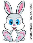 Cute Bunny Illustration On...