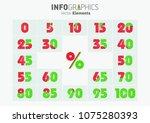 infographics. vector... | Shutterstock .eps vector #1075280393