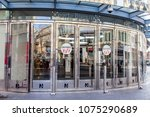 nice  france  on march 7  2018. ... | Shutterstock . vector #1075290689