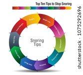 an image of a top ten tips to...   Shutterstock .eps vector #1075292696