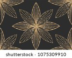 art deco seamless geometric... | Shutterstock .eps vector #1075309910