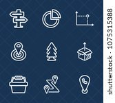 premium set with outline icons. ...   Shutterstock .eps vector #1075315388