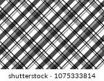 black white fabric texture... | Shutterstock .eps vector #1075333814