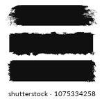 grunge banner for your design... | Shutterstock .eps vector #1075334258
