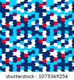 abstract seamless geometric... | Shutterstock .eps vector #1075369256