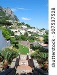 capri landscape   photo of... | Shutterstock . vector #107537528