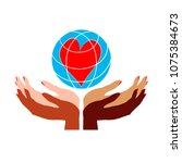 international woman day... | Shutterstock .eps vector #1075384673