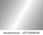 dotted halftone background.... | Shutterstock .eps vector #1075398434
