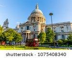 london  uk   july 17 2016   st. ... | Shutterstock . vector #1075408340