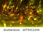 abstract beautiful bright... | Shutterstock . vector #1075411244