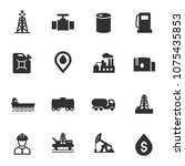 oil and petroleum industry ... | Shutterstock .eps vector #1075435853