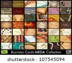 mega collection of 42 abstract... | Shutterstock .eps vector #107545094