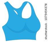 woman bustier symbol | Shutterstock .eps vector #1075454378