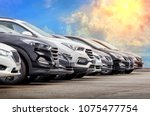 Cars For Sale Stock Lot Row....