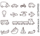 Transport And Vehicle Icons