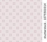 elegant vintage seamless... | Shutterstock .eps vector #1075503314