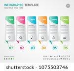 infographics elements diagram... | Shutterstock .eps vector #1075503746