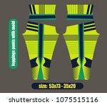 leggings pants fashion... | Shutterstock .eps vector #1075515116