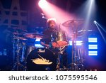 detroit  mi   usa   april 19 ... | Shutterstock . vector #1075595546