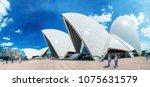 sydney   october 2015  sydney... | Shutterstock . vector #1075631579